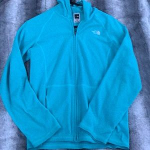 Blue North Face